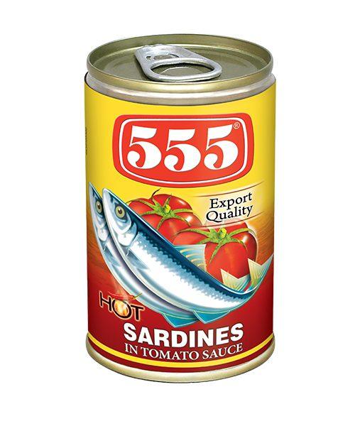 555 Sardines in Tomato Sauce
