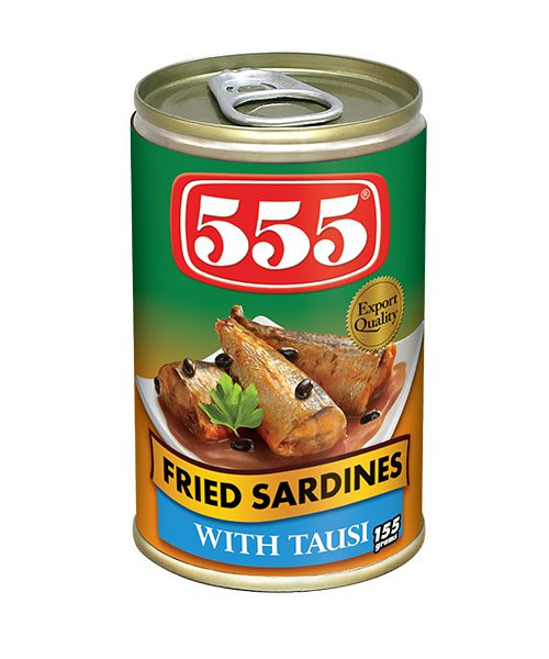 555 Fried Sardines With Tausi