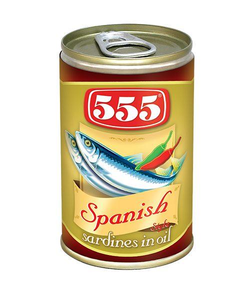 555 Fried Sardines Spanish Style