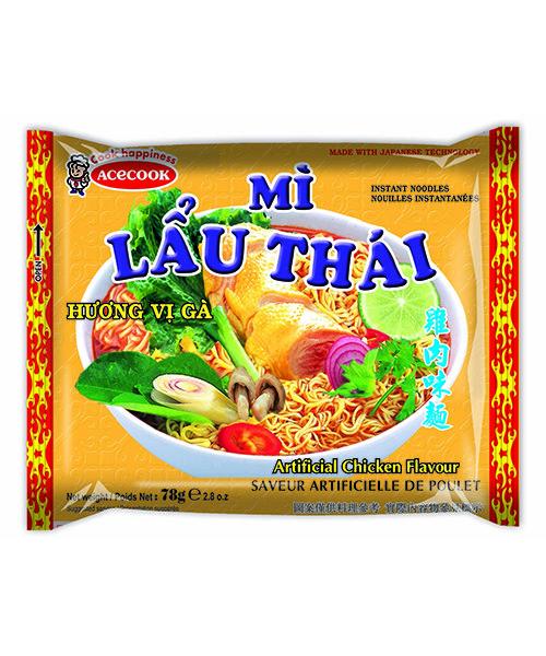 Mi Lau Thai Instant Noodles Chicken Flavour