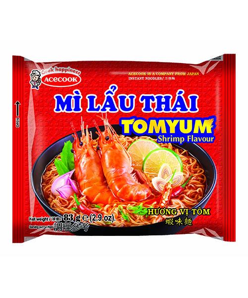 Mi Lau Thai Instant Noodles Shrimp Flavour