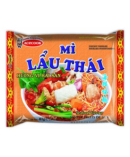 Mi Lau Thai Instant Noodles Seafood Flavour