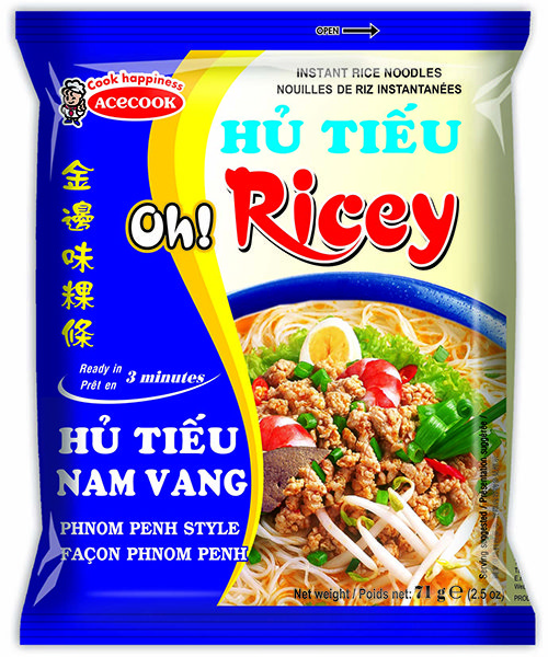 Oh! Ricey Instant Rice Noodles Phnom Penh Flavour