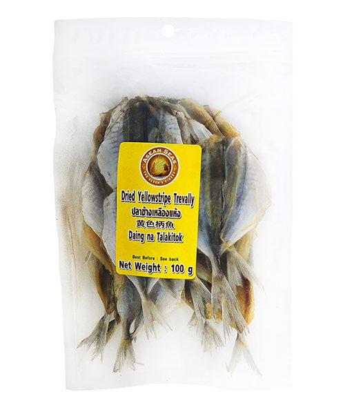ASEAN SEAS Dried Yellow Stripe Trevally