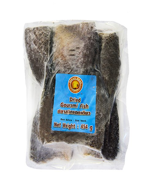 ASEAN SEAS FROZEN Dried Gouramy Fish (Salid Fish)
