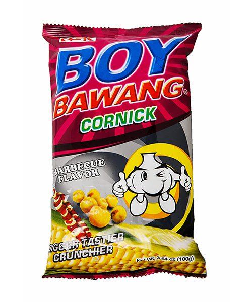 Boy Bawang Corn Snack BBQ Flavour
