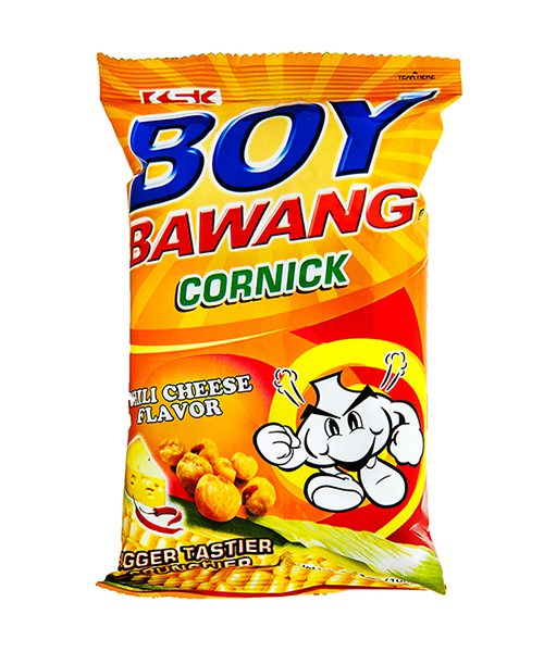 Boy Bawang Corn Snack Chilli Cheese Flavour