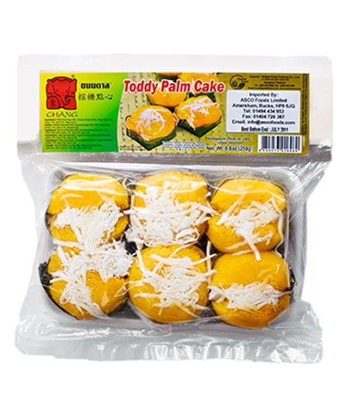 Chang FROZEN Toddy Palm Cake (Kanom Tarn)