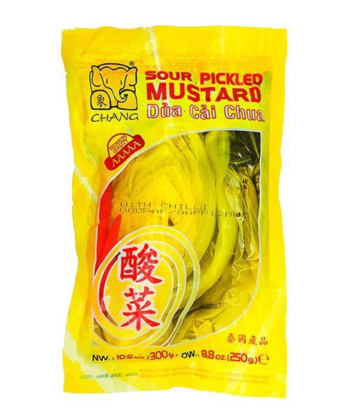 Chang Pickled Sour Mustard with Chilli