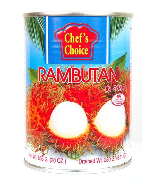 Chef's Choice Rambutan With Syrup