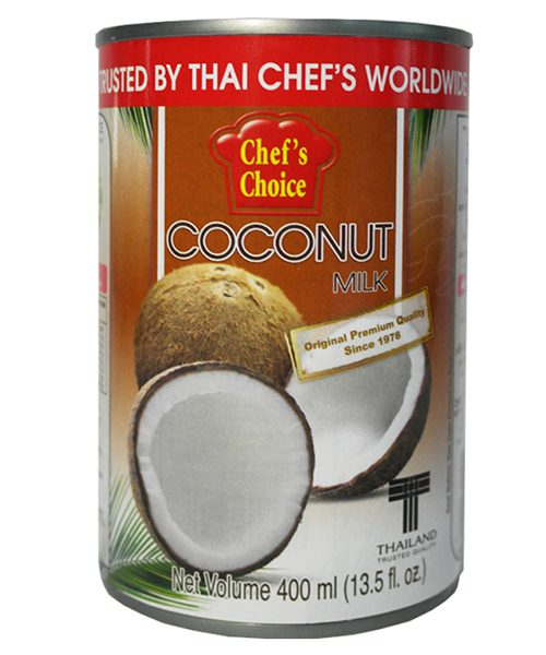 Chef's Choice Coconut Milk (Thai Cooking Formula)