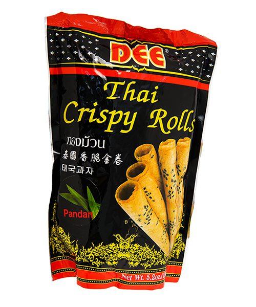 Dee Crispy Rolls Pandan Flavour