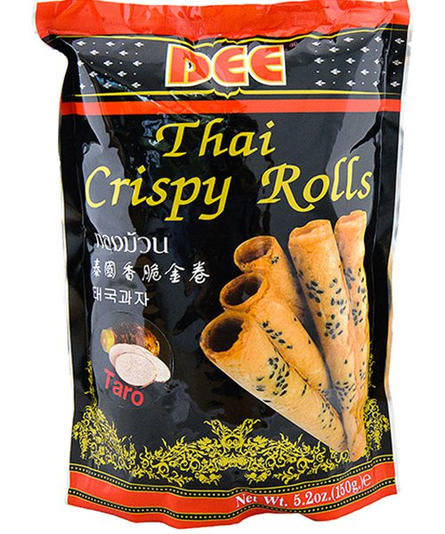 Dee Crispy Rolls Taro Flavour