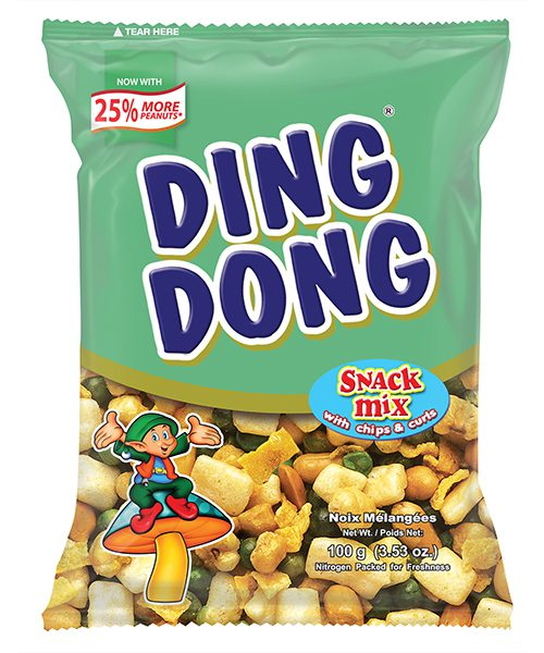 Ding Dong Snack Mix with Chips & Curls Barkada Pack