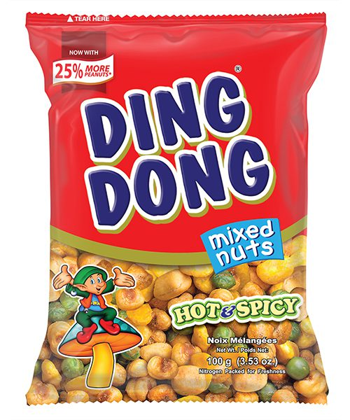Ding Dong Mixed Nuts Hot & Spicy Flavour