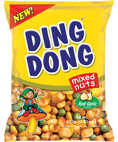 Ding Dong Mixed Nuts Real Garlic Flavour