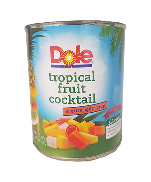 Dole Tropical Fruit Cocktail in Light Syrup
