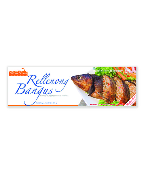 Fisher Farms Frozen Cooked Stuffed Milkfish (RELLENONG) BREL