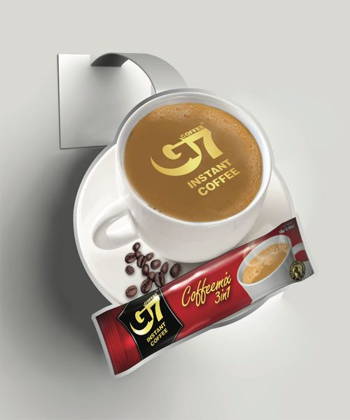 G7 Coffee Shelf Wobbler