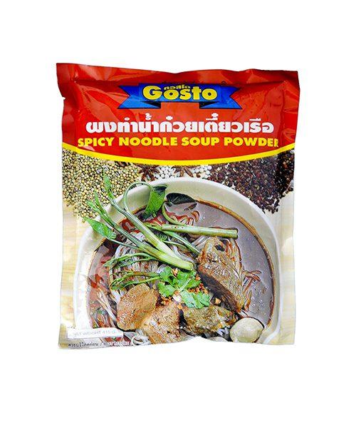 Gosto Noodle Soup Powder Spicy Flavour