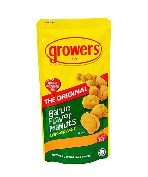 Growers Peanuts Garlic Flavour
