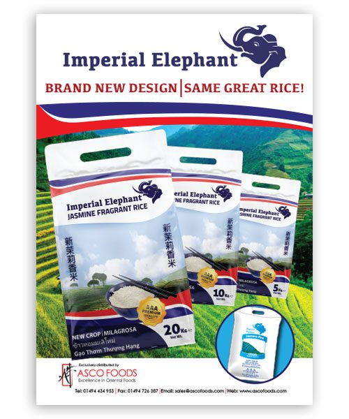 Imperial Elephant Poster A3 Size