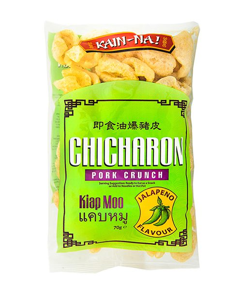 Kain-Na! Chicharon / Kiap Moo / Pork Crunch Jalapeno Flavour