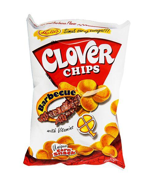 Leslie's Clover Chips BBQ Flavour