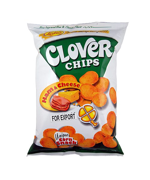 Leslie's Clover Chips Ham & Cheese Flavour