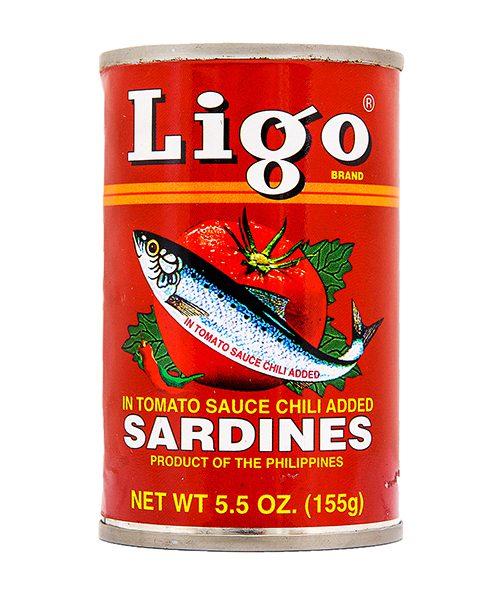 Ligo Sardines Chilli and Tomato Sauce