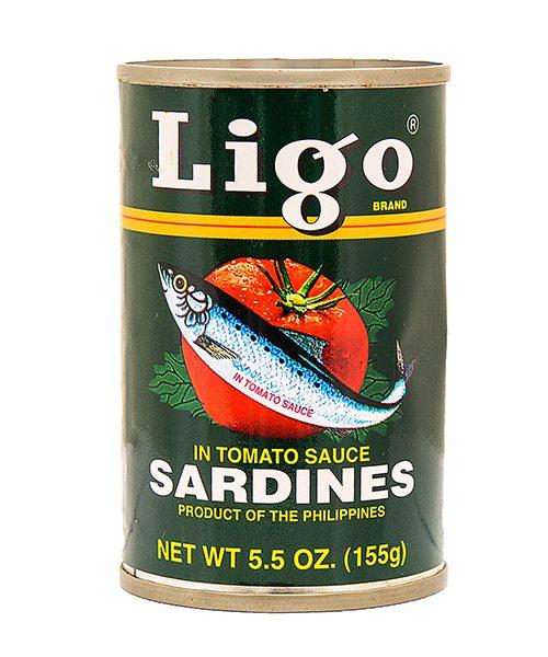 Ligo Sardines Tomato Sauce