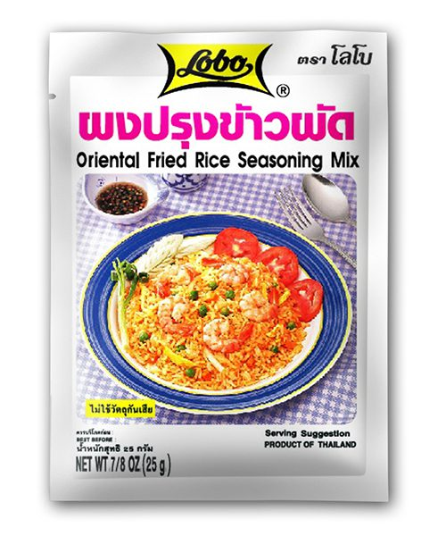 Lobo Oriental Fried Rice Mix