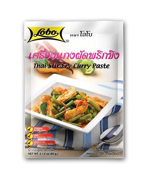 Lobo Thai Stir Fry Curry Paste 'Prik Khing'