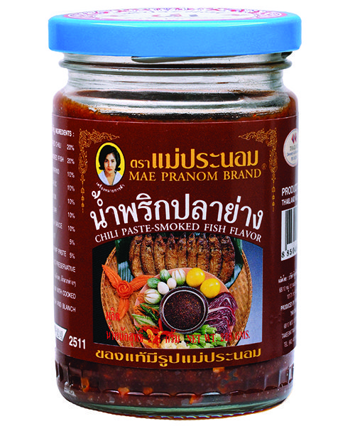 Mae Pranom Thai Chilli Paste:-SMOKED FISH FLAVOUR