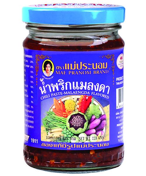 Mae Pranom Thai Chilli Paste:- MALAENGDA FLAVOUR