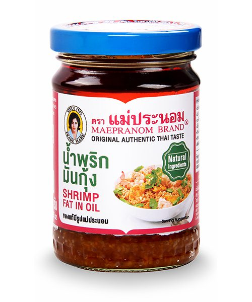 Mae Pranom Shrimp Paste in Oil