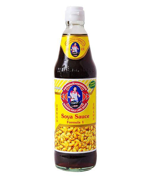 Maekrua Gold Label No.1 Thin Soya Sauce