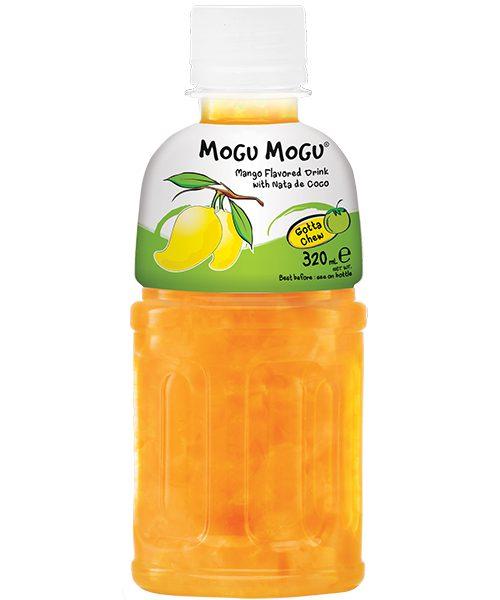 Mogu Mogu Nata De Coco Drink: Mango Flavour