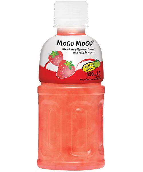 Mogu Mogu Nata De Coco Drink: Strawberry Flavour