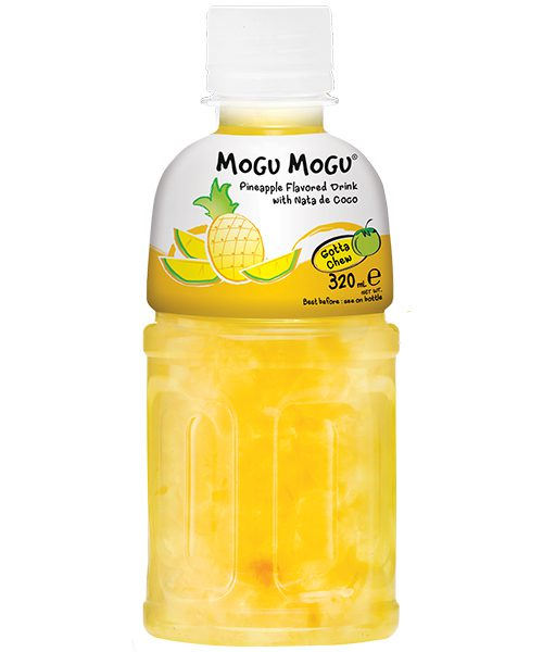Mogu Mogu Nata De Coco Drink: Pineapple Flavour