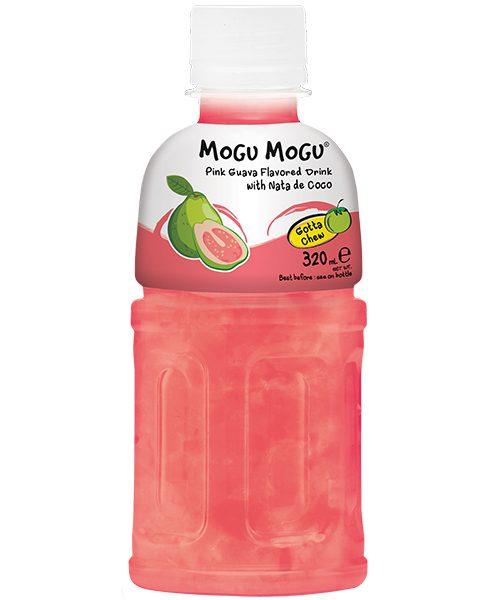 Mogu Mogu Nata De Coco Drink: Pink Guava