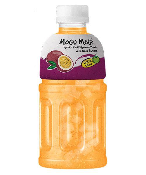 Mogu Mogu Nata De Coco Drink: Passion Fruit Flavour