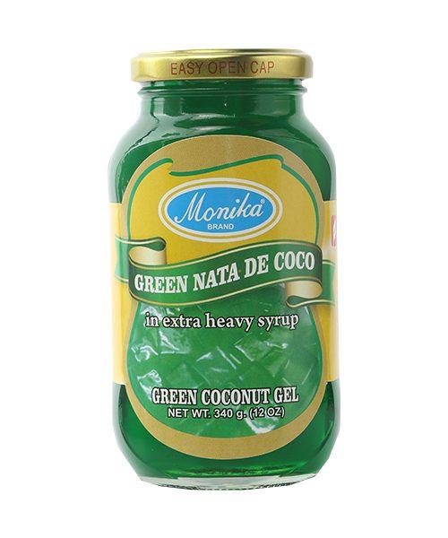 Monika Preserves Coconut Gel (Nata De Coco) Green