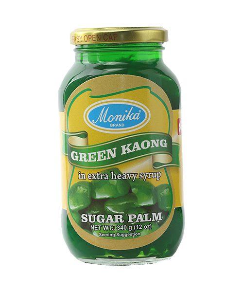 Monika Preserves Palm Fruit (Kaong) Green
