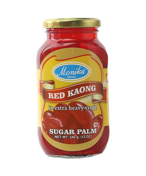Monika Preserves Palm Fruit (Kaong) Red