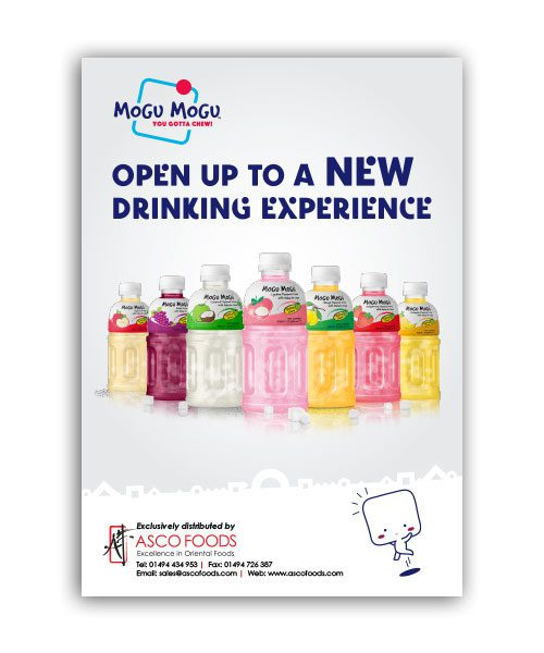 Mogu Mogu Poster A4 Size