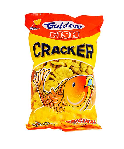 Golden Fish Flavoured Wheat Crackers