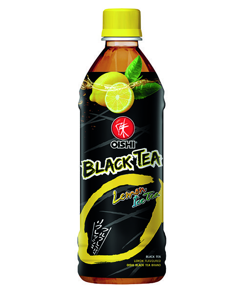 Oishi Green Tea Black Tea Lemon