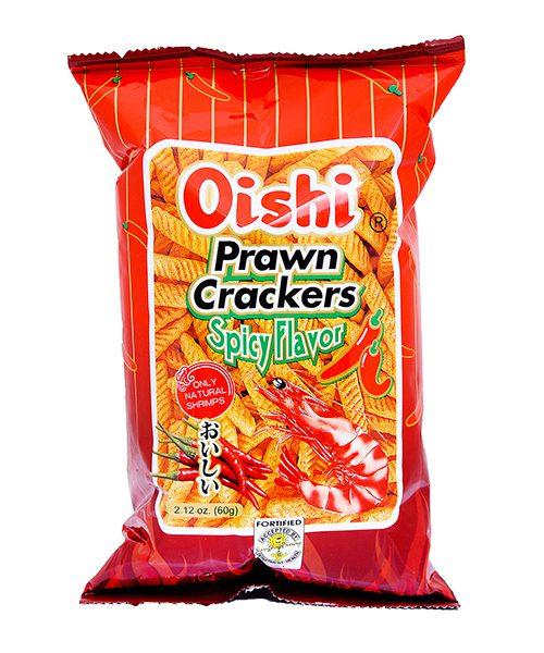Oishi Prawn Crackers Spicy Flavour