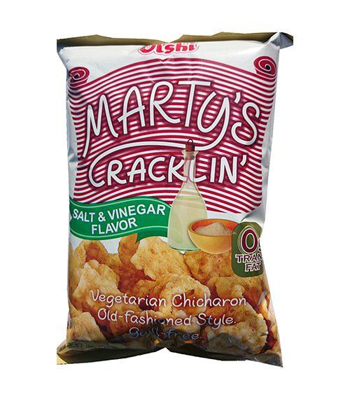 Oishi Marty's Crackling:- Salt & Vinegar Flavour